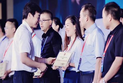"mg4355董事长金红萍荣获""2018-2019年度苏商高质量发展领军人物""称号"